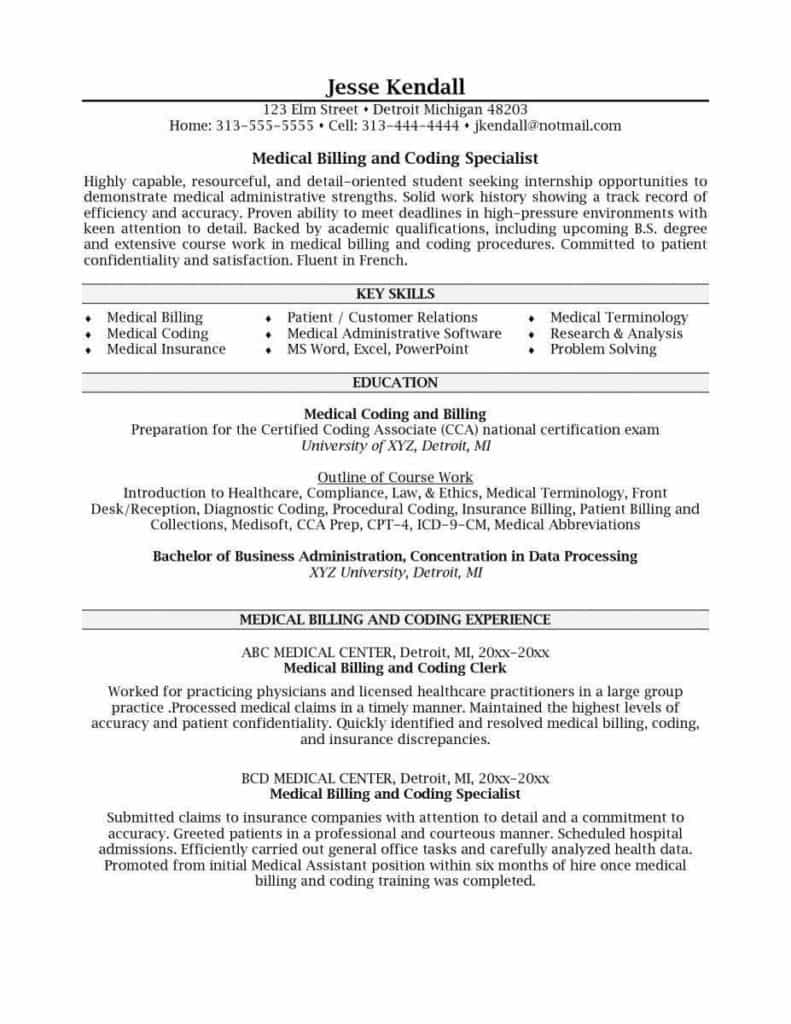 Medical Coding Specialist Job Description And Medical Billing And Coding Specialist