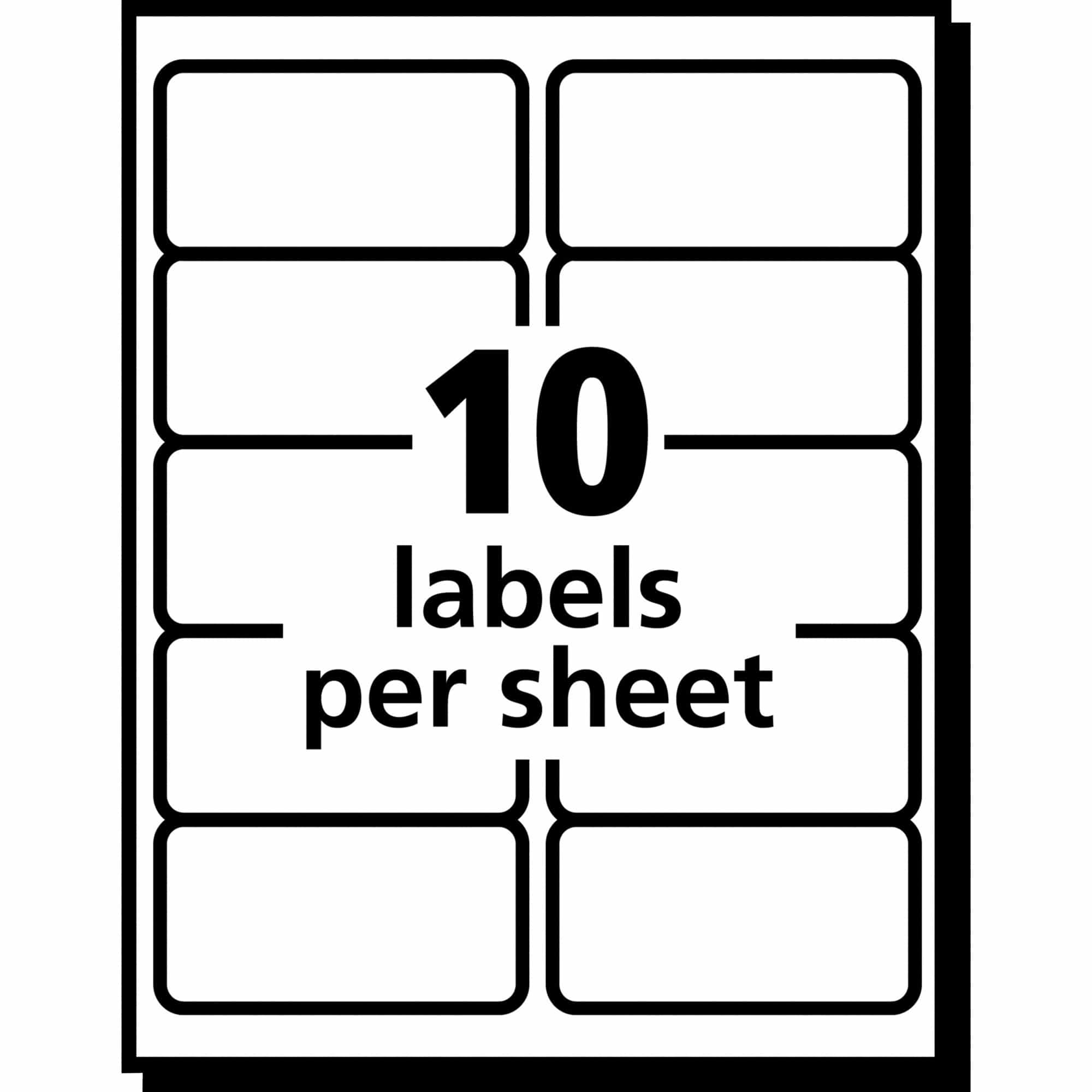 2 x 4 label template 10 per sheet and avery shipping label template 5163