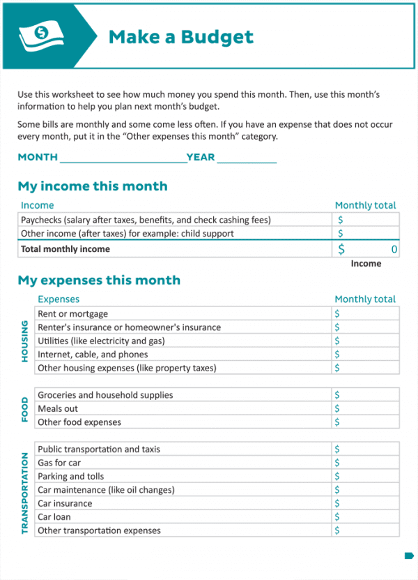 Budget spreadsheet for couples and online monthly budget worksheet