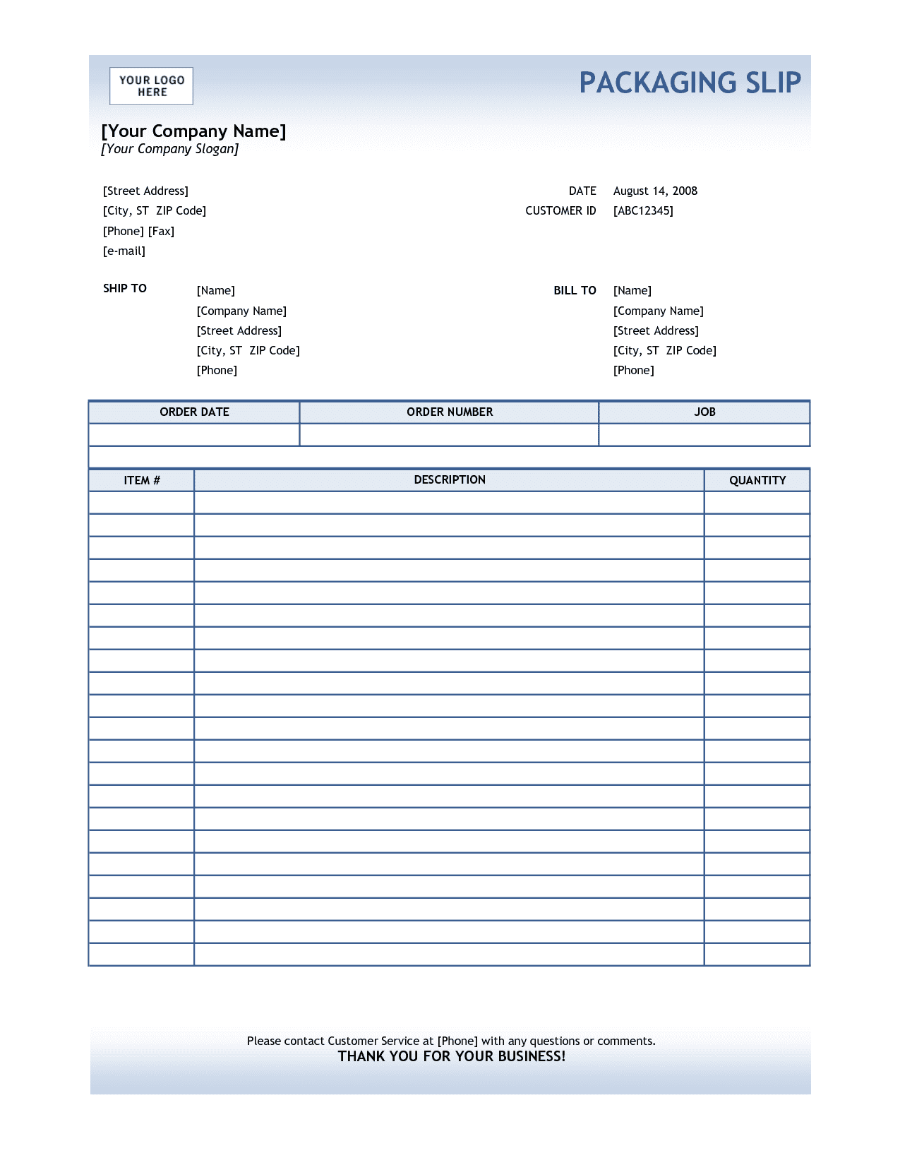 Free Sample Invoice Template For Word And Free Sample Electrical Invoice