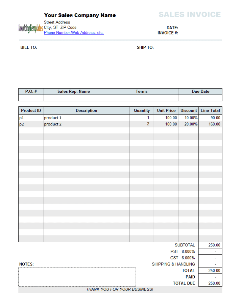 Handyman Invoice Format And Handyman Quote Template