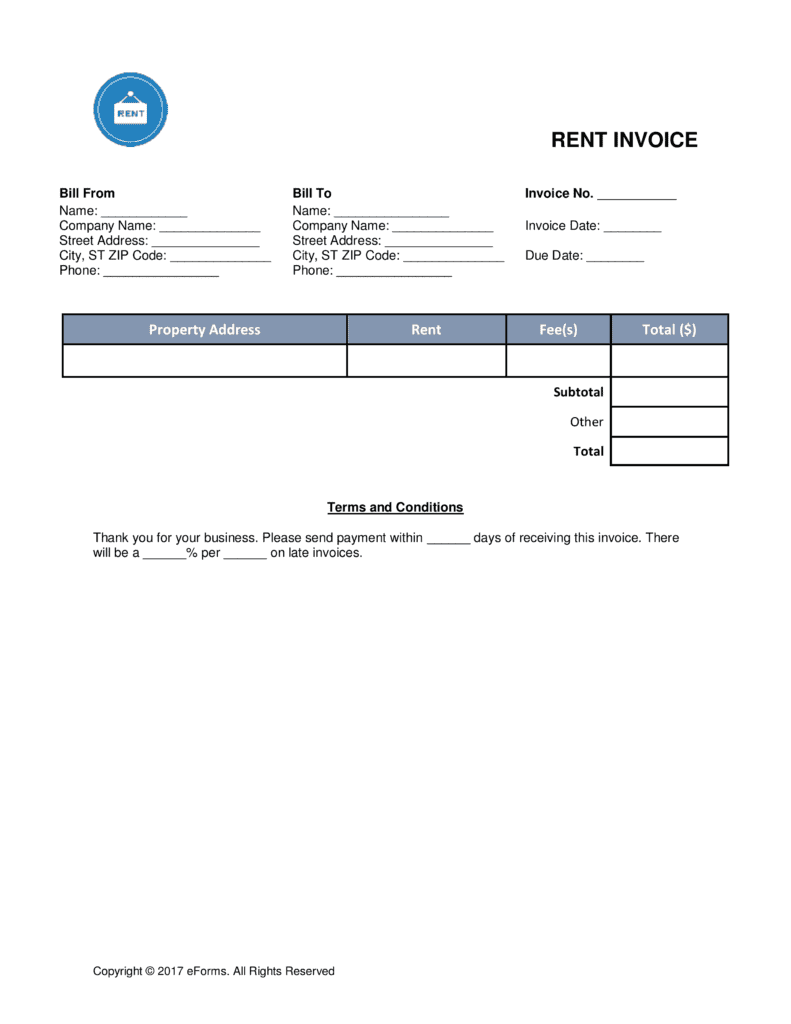 Rent receipt template word and rent payment receipt template excel