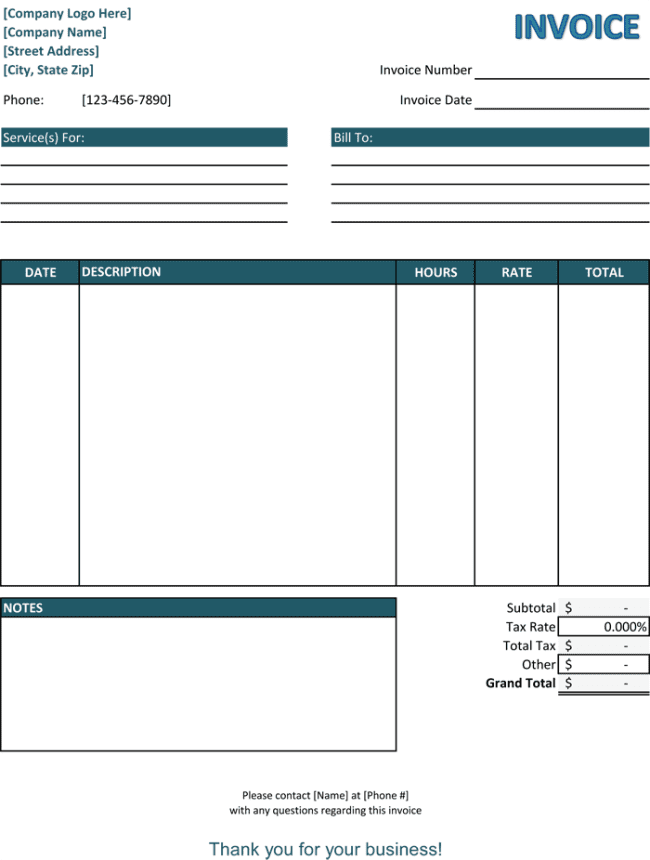 Sample Of Invoices For Services And Sample Acknowledgement Receipt For Services Rendered