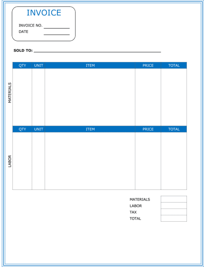 Free Excel Templates For Scheduling Employees And Blank Invoice Template Free