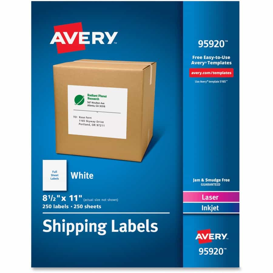 Avery 5163 Label Template Excel And Avery 6 Per Sheet Template