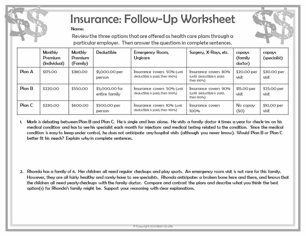 Budget Worksheet Pdf And Monthly Budget Worksheet