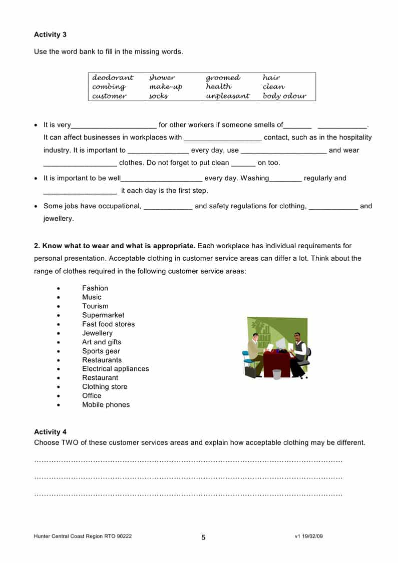 Looking For A Job Worksheet Pdf And Job Interview Questions Worksheet Pdf