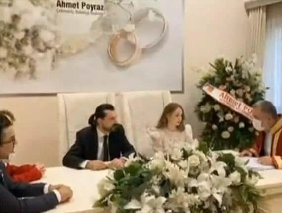 Hakan ve Ece Bayrakçı 10 Ocak 2021 Nikah Töreni