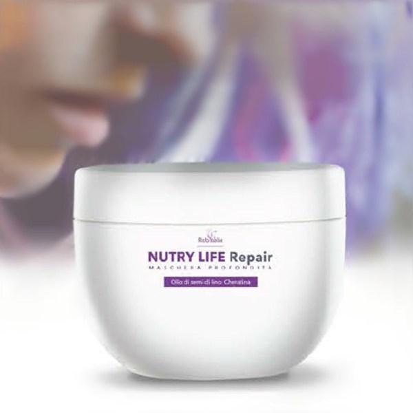 Maska za poškodovane lase NUTRY LIFE