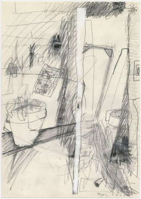 Lars Pryds: Opbrud # 12, 1987.
