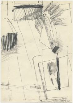 Lars Pryds: Opbrud # 17, 1987.