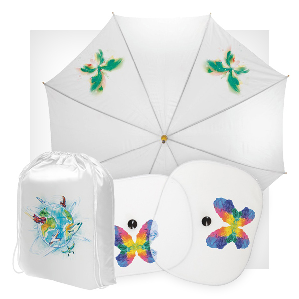 Parasol plecak (worek) osłony na szyby pod sublimację