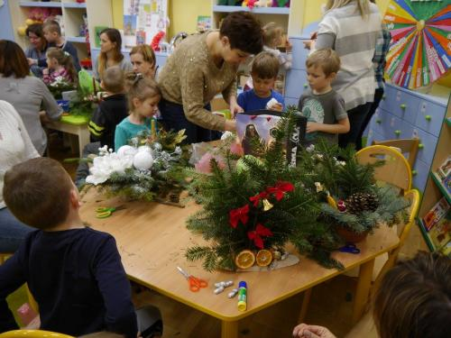 Przedszkole Radgoszcz - świąteczne zajęcia otwarte16