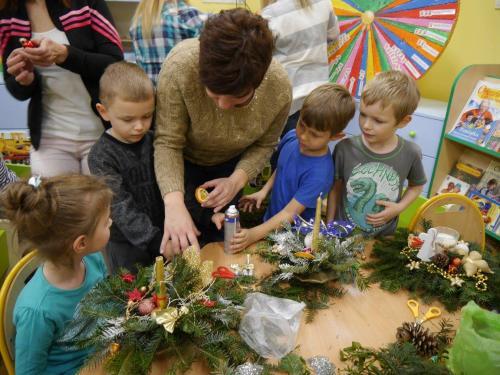 Przedszkole Radgoszcz - świąteczne zajęcia otwarte20