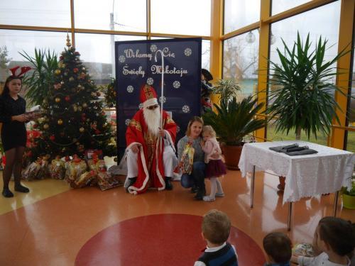 Przedszkole Radgoszcz - wizyta św. Mikołaja25