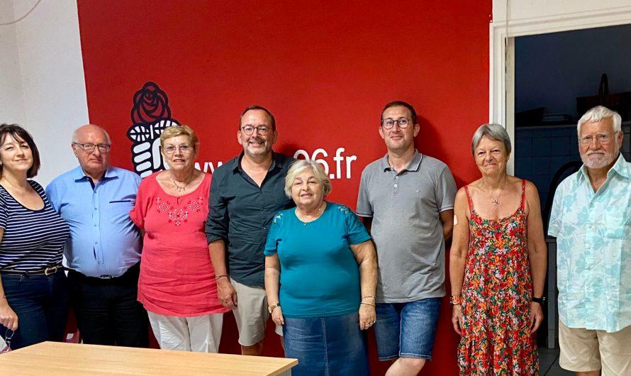 Visite de Luc Broussy à la Fédération des Alpes-Maritimes