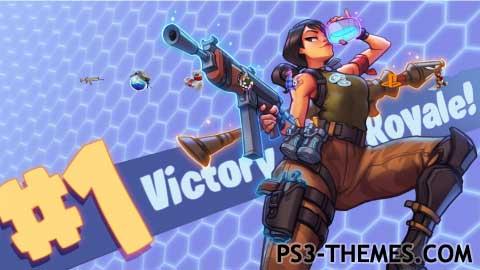 PS3 Themes Fortnite Battle Royale Theme
