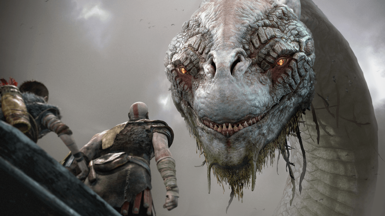 E3 2017 God Of War 2018 Screenshots PS4 Home