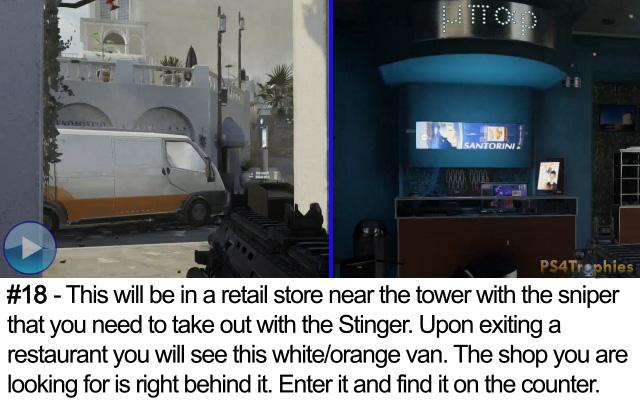 Call of Duty Advanced Warfare Collectible intel 18