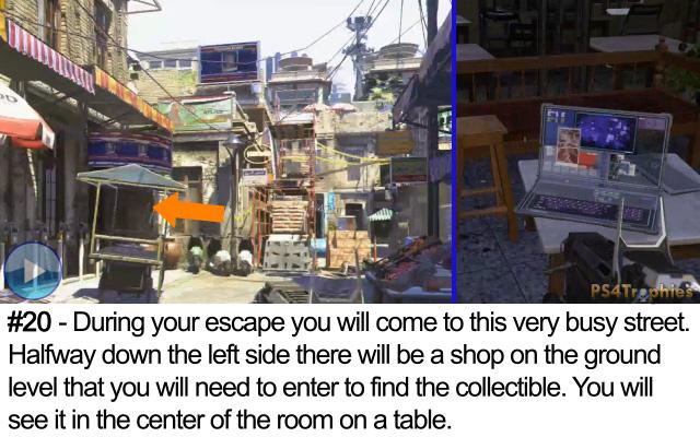 Call of Duty Advanced Warfare Collectible intel 20