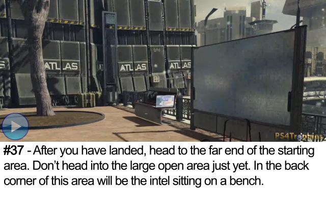 Call of Duty Advanced Warfare Collectible intel 37