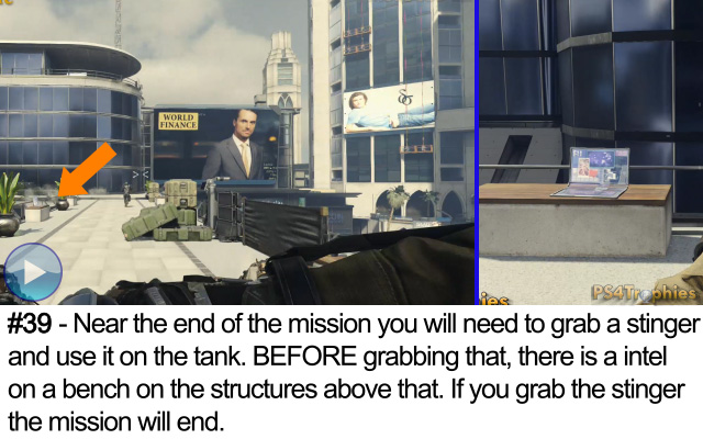 Call of Duty Advanced Warfare Collectible intel 39