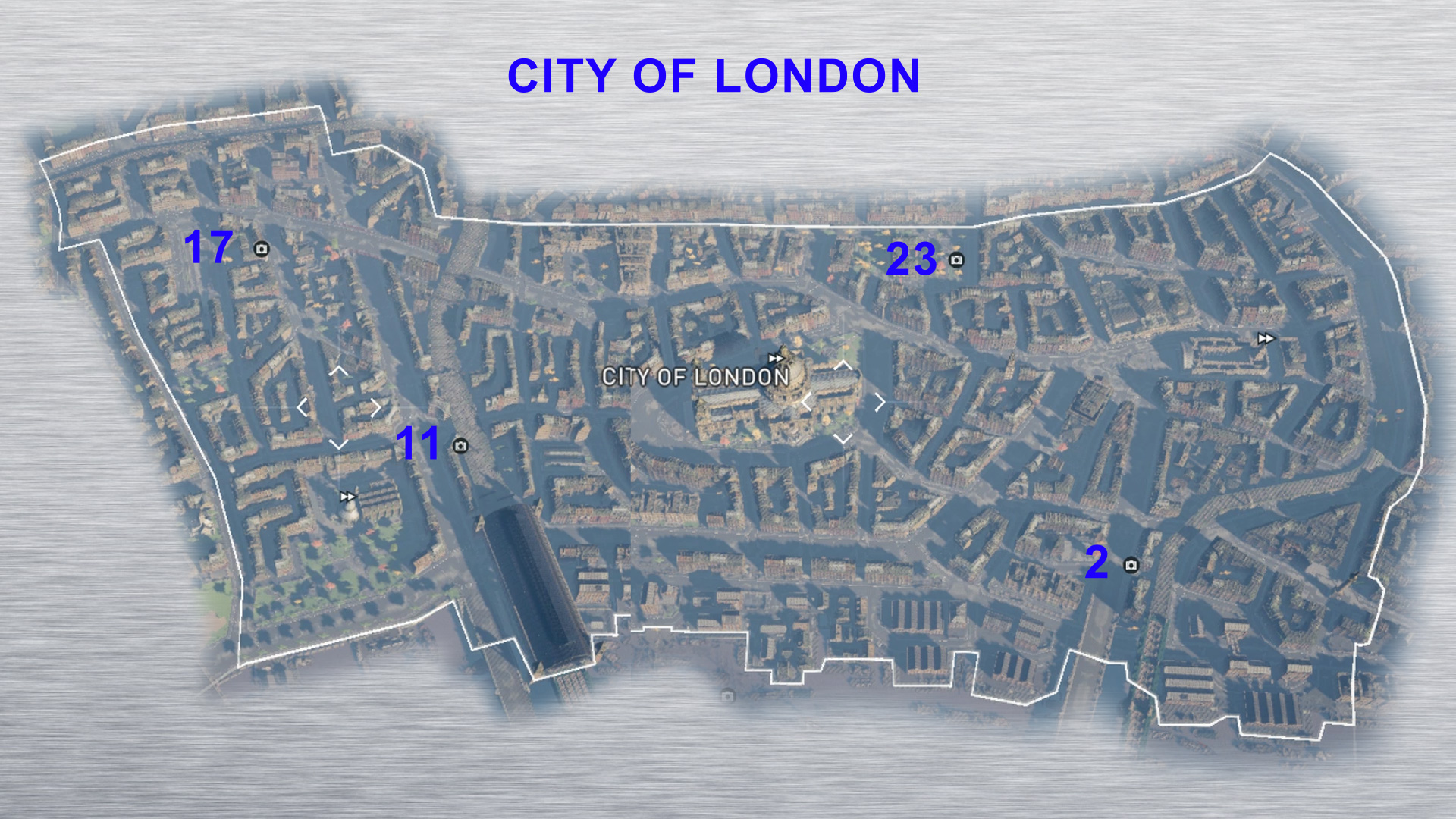 Ac Syndicate Secrets Of London Map Assassin's Creed Syndicate   Godlike   Secrets of London Maps