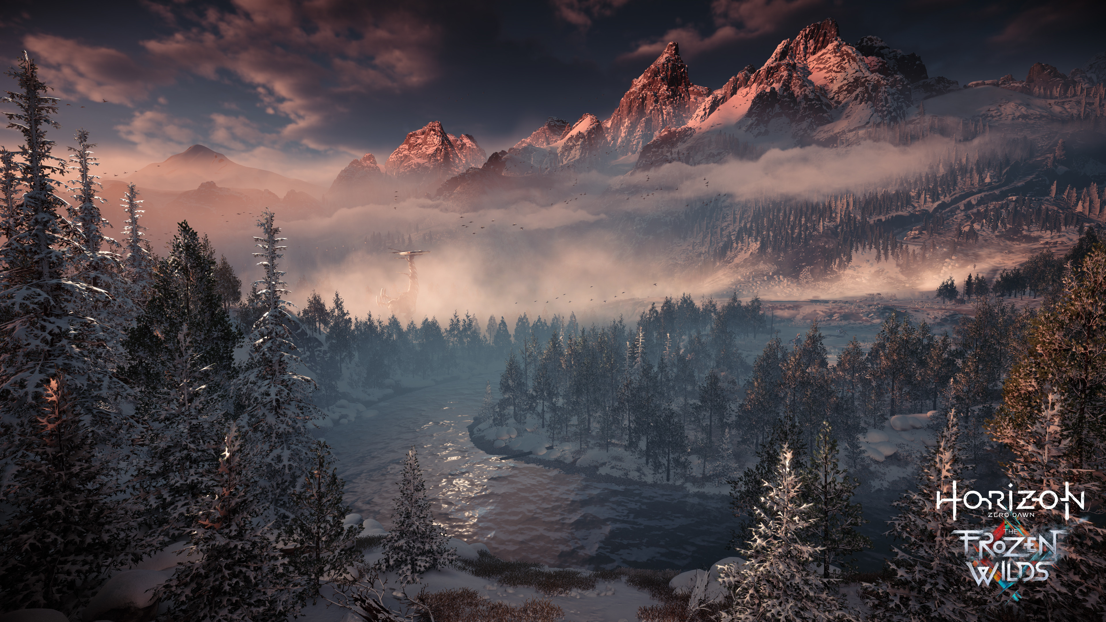 Horizon Zero Dawn   PS4Wallpapers com Horizon Zero Dawn  The Frozen Wilds  4