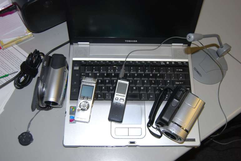 Various electronic devices