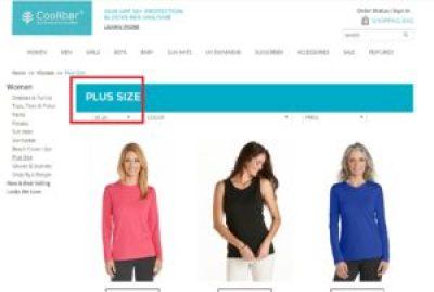 coolibar plus-size clothing
