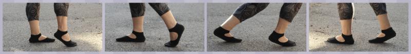 Chaussures minimalistes Ballerines Leguano