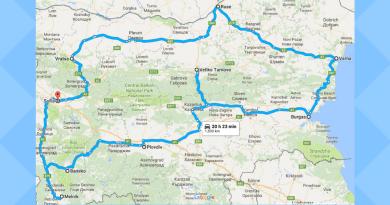 Partie en Bulgarie !