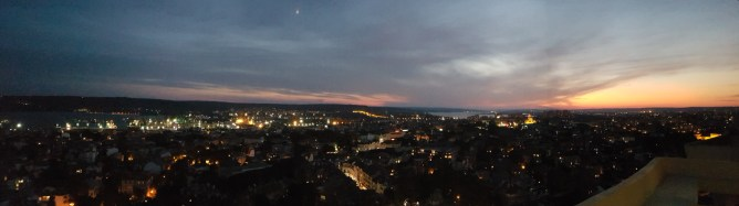 plus-size bulgaria varna cherno more hotel panorama sunset