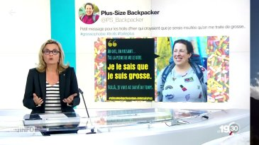 plus-size backpacker fatphobia swiss news tweet i know im fat