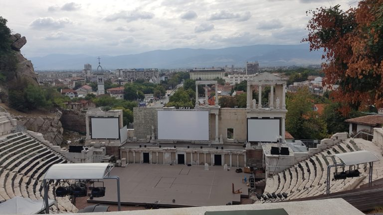 Plovdiv - Ancient Roman Theater (daytime)