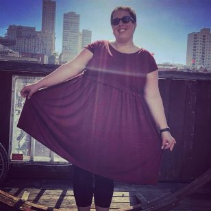 Plus-size travel gift guide Coeur de loup fred dress