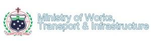 Ministry of Works, Transport & Infrastructre