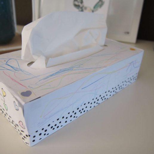 moederdag diy tissuebox