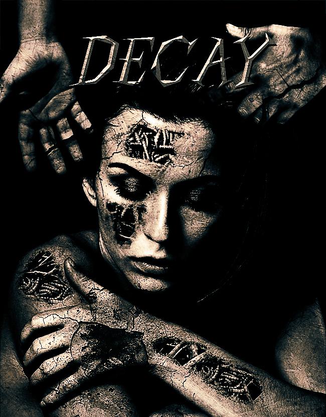 decay horror portrait effect photoshop tutorial