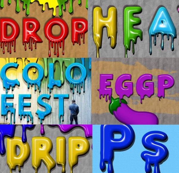 Paint Drip Text Effect in Photoshop - Photoshop tutorial ...