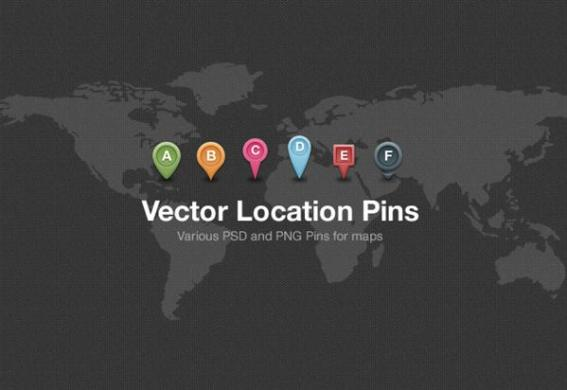 Map Pin PSD Free Download   PSDDude Map Location Pin PSD File
