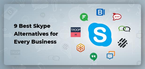 نتيجة بحث الصور عن Skype Alternatives