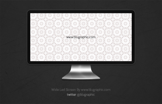 Wide Led Apple Screen Free Psd Psdexplorer