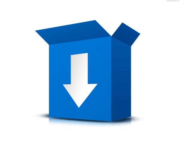 Download software box (PSD)   PSDGraphics