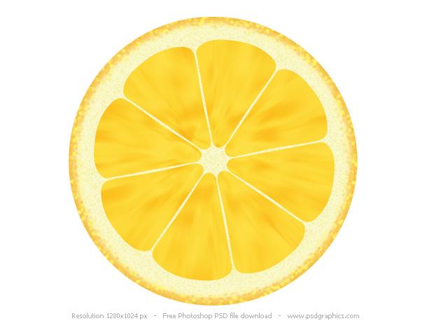Fruit Illustrations Lemon And Orange Icons PSDGraphics