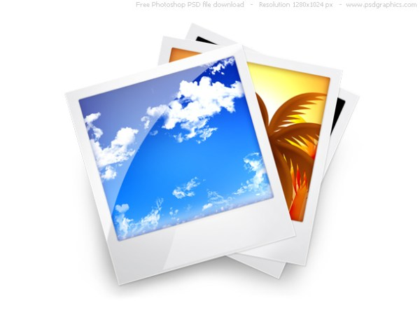 PSD photo gallery icon | PSDGraphics