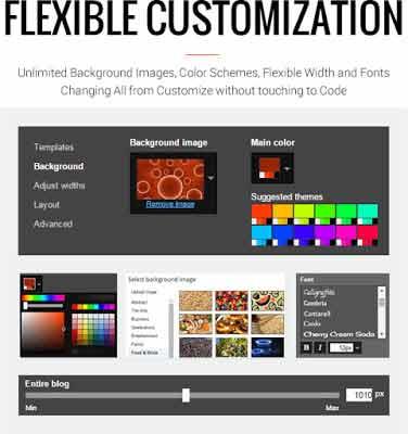 12 MagOne Magazine Blogger Template Flexible Customization compressor