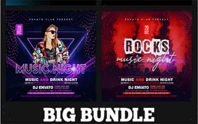 Ladies Night Club Flyer Bundle Free Download G Drive