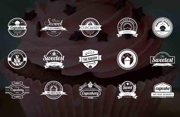 15 Bakery252C Cupcakes 2526 Cake Logos Free Download