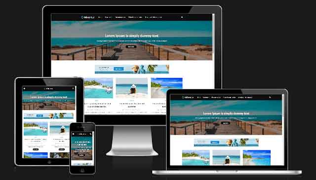 Adventur-Travel-Blogger-Template-Premium-Version-Free-Download